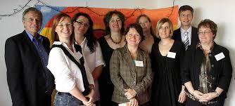 Eingeweiht wurde das Familienzentrum im Beisein von (von links) Rainer Stickelberger, Sandra Balzer, Martina Jähnert, Kirsten Nutto, ... - 32447718