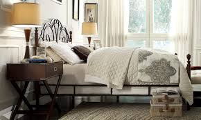 Tall Canopy Bed by 6 Easy Steps To Buying The Perfect Bed Frame Overstock Com