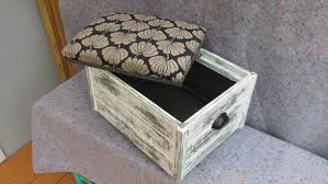 diy pallet ottoman with storage capability pallet furniture plans