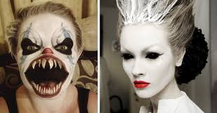 25 of the scariest makeup ideas for halloween
