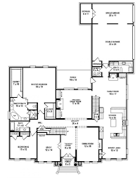 Simple 4 Bedroom House Plans by Awesome 7 Bedroom House Plans Contemporary Home Design Ideas