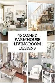 Design Basics Farmhouse Home Plans 45 Comfy Farmhouse Living Room Designs To Steal Digsdigs