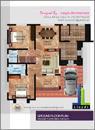 Home Design Free Plans by 1878 Sq Feet Free Floor Plan And Elevation Kerala Home Design
