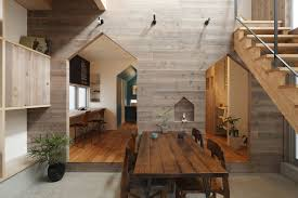 small modern house in kyoto with wood interiors idesignarch