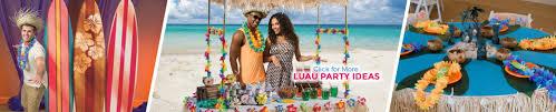 party city halloween backdrop luau party supplies hawaiian theme party shindigz
