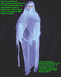 real white halloween ghost prop decoration