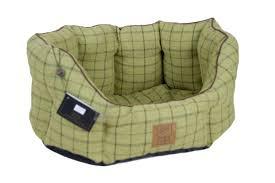 house of paws tweed oval pet bed in green u0026 reviews wayfair co uk