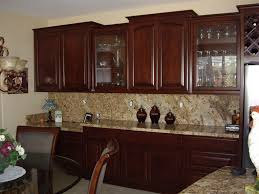 Furniture Style Kitchen Cabinets Upper Kitchen Cabinets With Glass Doors Tehranway Decoration