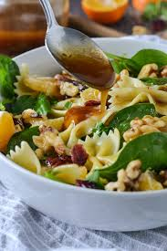 Pasta Salad Ingredients Mandarin Orange And Spinach Pasta Salad Mother Thyme