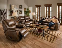 brown leather sofa and cushions with rectangle brown wooden table