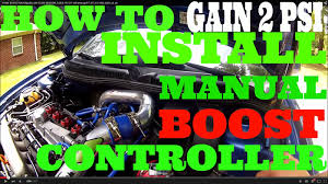 how to install a manual boost controller jetta 1 8t audi evo golf