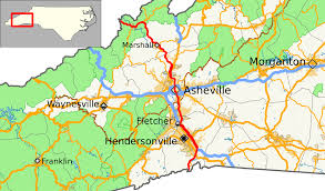 West Tennessee Map by U S Route 25 In North Carolina Wikipedia