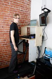 treadmill desk 11 steps with pictures