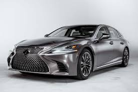 lexus lc pricing 2018 lexus ls first look automobile magazine