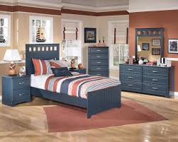 Modern Bedroom Set Dark Wood Kids Theme Bed Zamp Co