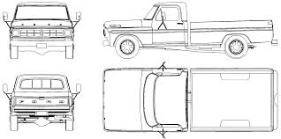 Old Ford Truck Coloring Pages - f150 clipart free download clip art free clip art on clipart