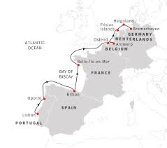 Map Of Western Europe by Navigating The Bays And Islands Of Western Europe Hurtigruten Us