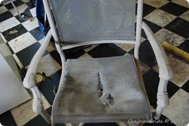 Replacement Patio Chair Slings by Domestic Bliss How To U201creupholster U201d Patio Sling Chairs