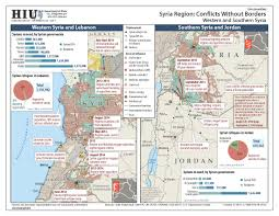 Iraq Syria Map by U S State Department Iraq Syria Conflict Without Borders Map