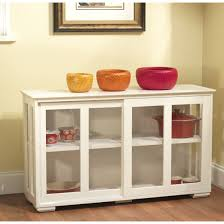 glass door hutch sideboards extraordinary white kitchen hutch for sale white