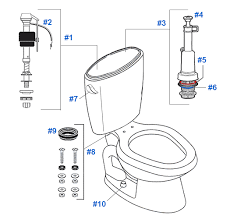 Water Ridge Kitchen Faucet Replacement Parts Mansfield Nottingham Toilet Replacement Parts