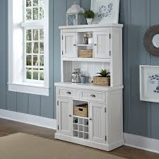 Shabby Chic Kitchen Cabinet Ceiling Luxury White Wood Buffet Hutch With Cabinet Glass Door