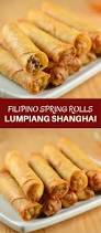 filipino thanksgiving recipes lumpiang shanghai recipe ground chicken water chestnut and