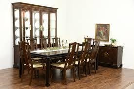drexel heritage connoisseur chinese motif vintage dining set