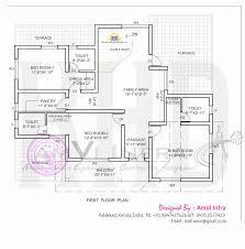 Indian Home Design Plan Layout 5 Room Home Design