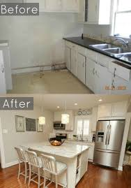 House Designs Kitchen by Before And After Of Our 1940 U0027s Bungalows Kitchen