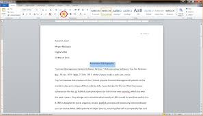 Annotated Bibliography LT  I can use my knowledge of MLA and     Home   FC  Annotated Bibliography Tutorial   Cornell University Library Best