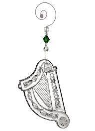 waterford crystal harp christmas ornament 2016 blarney