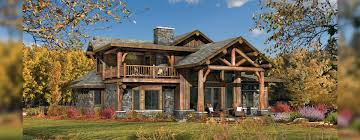 huntington log home floor plan