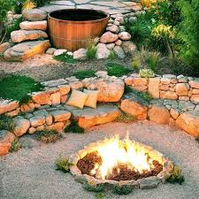 How To Make A Fire Pit In Backyard by 38 Ideas For Firepits Sfgate
