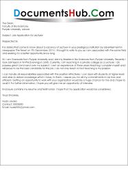 Sample Cover Letter For Fresher Teacher Job Application Teaching Cv Template Cover Letter Lecturer Job Application  example