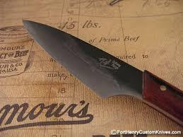 zubeng forge tamahagane pocket fixed blade fort henry custom