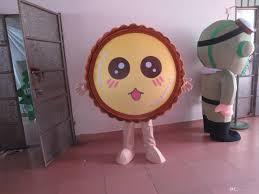 size food egg tart costume halloween christmas oem cartoon