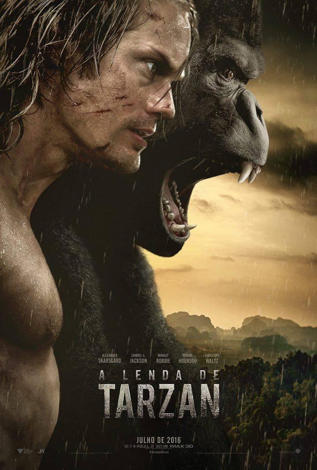 Filme A Lenda de Tarzan (2016) Blu-Ray 720p / 1080p Dublado – Torrent