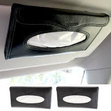 wall mounted kleenex holder amazon com 2 car visor tissue holder caddy kits refill kleenex