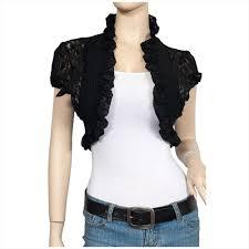 Plus Size Cropped Cardigan Lace Bolero Shrug Open Cropped Cardigan Short Sleeve Ebay