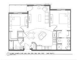 2 Bedroom 1 Bath Floor Plans Rosewood In The Park Inh Properties