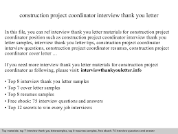 Construction Project Coordinator Resume Sample by Construction Project Coordinator
