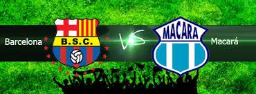 Macará vs Barcelona en VIVO 2013