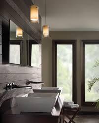 bathroom modern bathroom lighting in white themed bathroom with