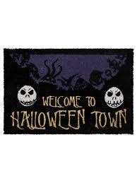 nightmare before christmas halloween town doormat buy online at