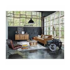 maison du monde coussin de sol déco en métal noir 97x148cm side car