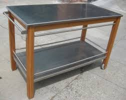 kitchen stainless steel the orleans kitchen island with marble
