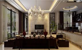chinese house living room design interior design