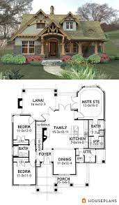 Small House Building Plans Craftsman Mountain House Plan And Elevation 1400sft Houseplans