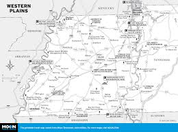 State Of Tennessee Map by Printable Travel Maps Of Tennessee Moon Travel Guides